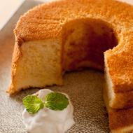 ふわんふわんな☆天使のピーナッツシフォンケーキ