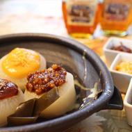ふろふき大根 メープル風味の味噌だれ3種類