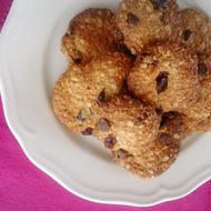 アーモンドとココナッツオイルの簡単クッキー