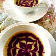 さつま芋とチーズのスープ