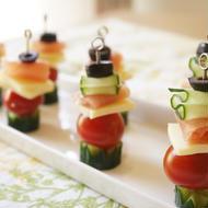 夏野菜のピンチョス