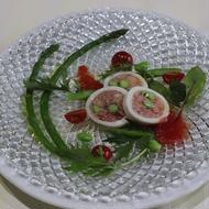 サラダ仕立てのカラマリリピエーニ