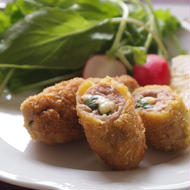 バジルチーズのイタリアンロールカツレツ