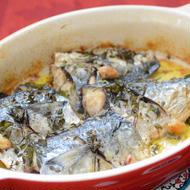 季節の魚のハーブグリル