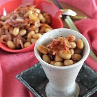 桜えびと大豆の煎り煮