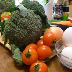 見えないところにも、野菜を沢山使うのがイタリアの家庭料理。