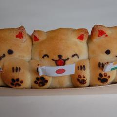 2017年に世田谷パン祭りでグランプリを受賞!猫ちゃんパン