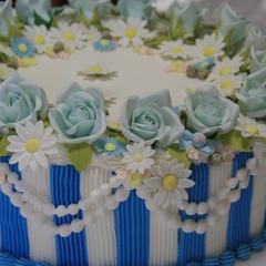 キリン午後の紅茶CM用に製作したケーキ