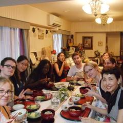 外国人の和食レッスン。10年前から続く大人気レッスンです。