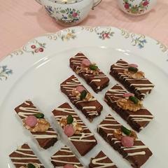 はじめてのお菓子作り 1月 チョコレート・ブラウニー