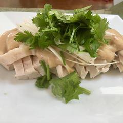 6月メニュー中華料理レッスンより棒棒鶏