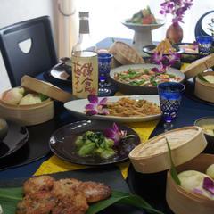 1月冬の点心、中華のお惣菜料理♪