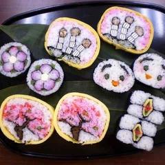 千葉の郷土料理の太巻き祭りずしを市原市の四季と供に楽しく紹介