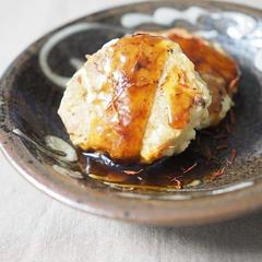 鶏と筍のハンバーグ