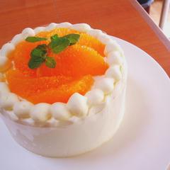 ナッペ技術なくてもキレイに出来るショートケーキ♪