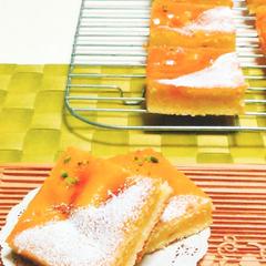 杏の発酵バターケーキ