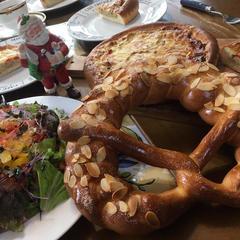 12月はクリスマスのパンでプチパーティー