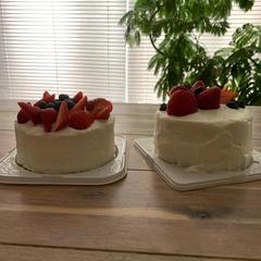 2021-04 いちごのショートケーキと紅茶レッスン