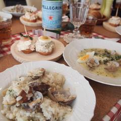 現地で習ってきた美食の街スペインバスク料理。