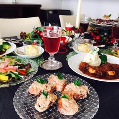 12月はクリスマス料理。
