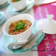ベトナムのミンロン食器でテーブルコーディネート