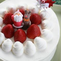 2011クリスマスケーキ♪18cmの大きなケーキは大人気♪