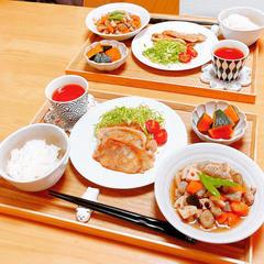筑前煮と豚生姜焼きレッスン