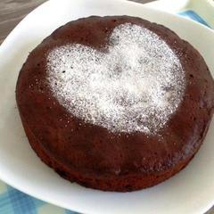 バレンタイン『ラムレーズンのチョコレートケーキ』