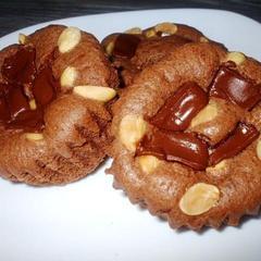 バレンタイン『ごろごろチョコレートとピーナッツのケーキ』