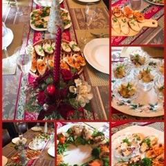 作り置き料理クラスで作ったクリスマスパーティーメニュー