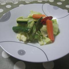 ベーシッククラスメニュー 夏野菜のマリネ