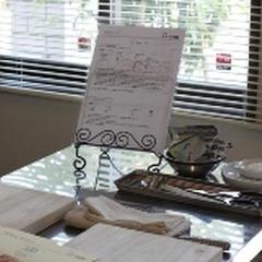 レッスンはすべて料理教室専用スペースで行っています。