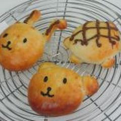 動物パン、みんな上手に作ってくれました♪