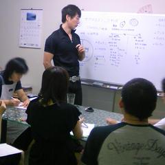 インストラクターコースの講義授業風景。