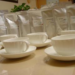 教室で、試飲していただいている茶葉。