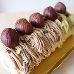 ケーキも自分で作ると優しい味で美味しい。