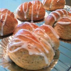 紅茶葉を混ぜ込んだ人気のパン