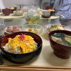 二十四節気を愉しむお料理クラス 風景(R.3.4.4)