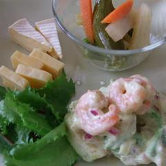 サイドメニューは自家製酵母を使ったお料理も酵母味噌のチーズ!