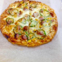 日進市民会館でピザをお教えしました。