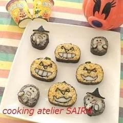 ハロウインには、おばけかぼちゃと可愛いゴースト♪