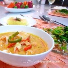 野菜たっぷりインドネシア料理♪