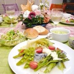 春はサワラと野菜でプチ・フレンチ♪