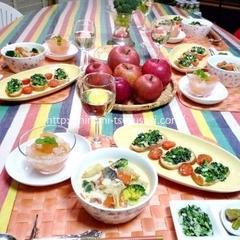 冬野菜と果物で免疫力UP♪