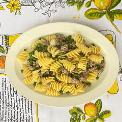 自家製サルシッチャのペペロンチーノ