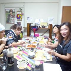 仲間同士の教室、マッコリも美味しい~^^