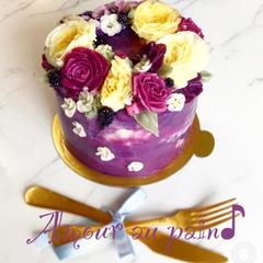 IKAFCD バタークリームホールケーキ