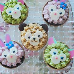 2019.6~8月親子クッキングのカップケーキレッスン