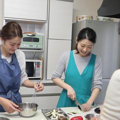 少人数制なので料理工程を見逃すことがありません。