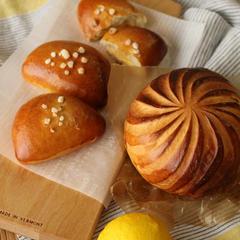 『パン・オ・シトロン』 自家製レモンジャム入りの爽やかなパン